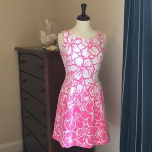 Lilly Pulitzer Pink & White dress
